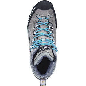 Garmont Rambler GTX Shoes Women warm grey/aqua blue